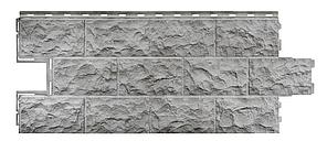 Фасадные панели Серый 1137x472 мм Дачные Доломит FINEBER
