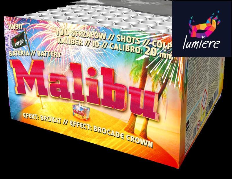 Батарея салютов Jorge JW911 Malibu