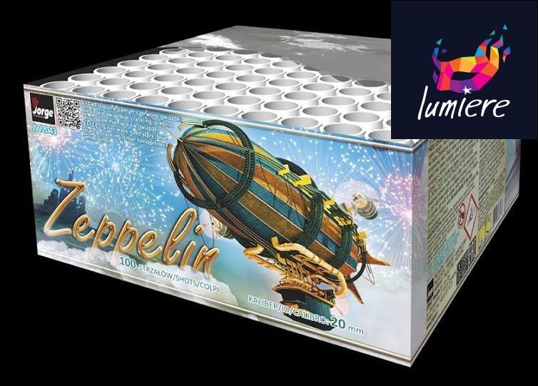 Батарея салютов Jorge JW2043 Zeppelin