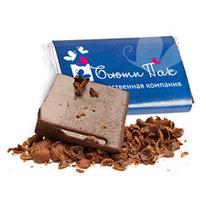 Шоколад 15 гр. с фирменной символикой