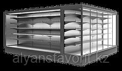Пристенные охлаждаемые стеллажи Monte S/SH