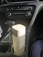 Компактная бутылка для напитков 550 мл Бежевая матовая, фото 1