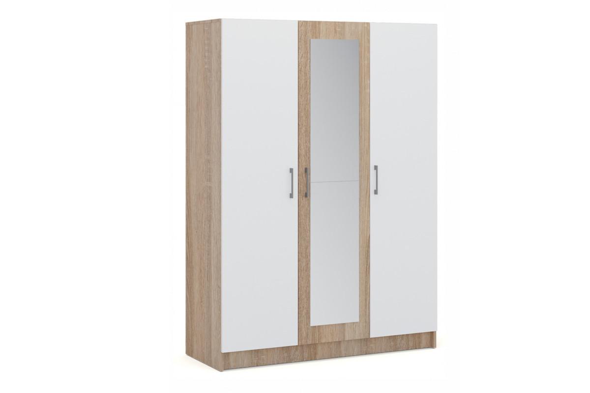 Шкаф для одежды 3Д Алена, Белый, Империал (Россия)
