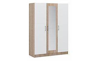 Шкаф для одежды 3Д Алена, Белый, Империал (Россия), фото 2