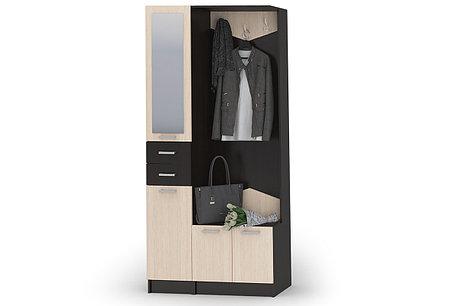 Шкаф прихожая 4Д Грация 2, Венге/Белфорд, Стендмебель (Россия), фото 2