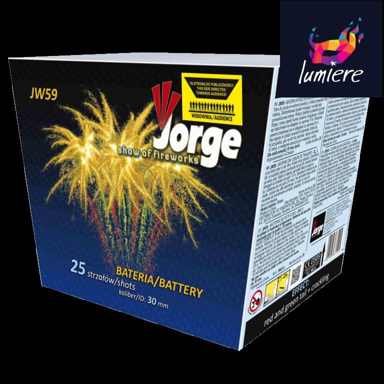 Батарея салютов Jorge JW59 Show of fireworks