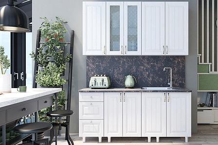 Прованс Белый(912) 1,8 м., Кухонный КОМПЛЕКТ, СВ Мебель, фото 2