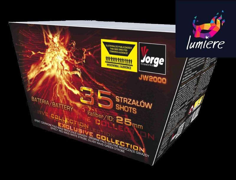 Батарея салютов Jorge JW2000 Exclusive Collection