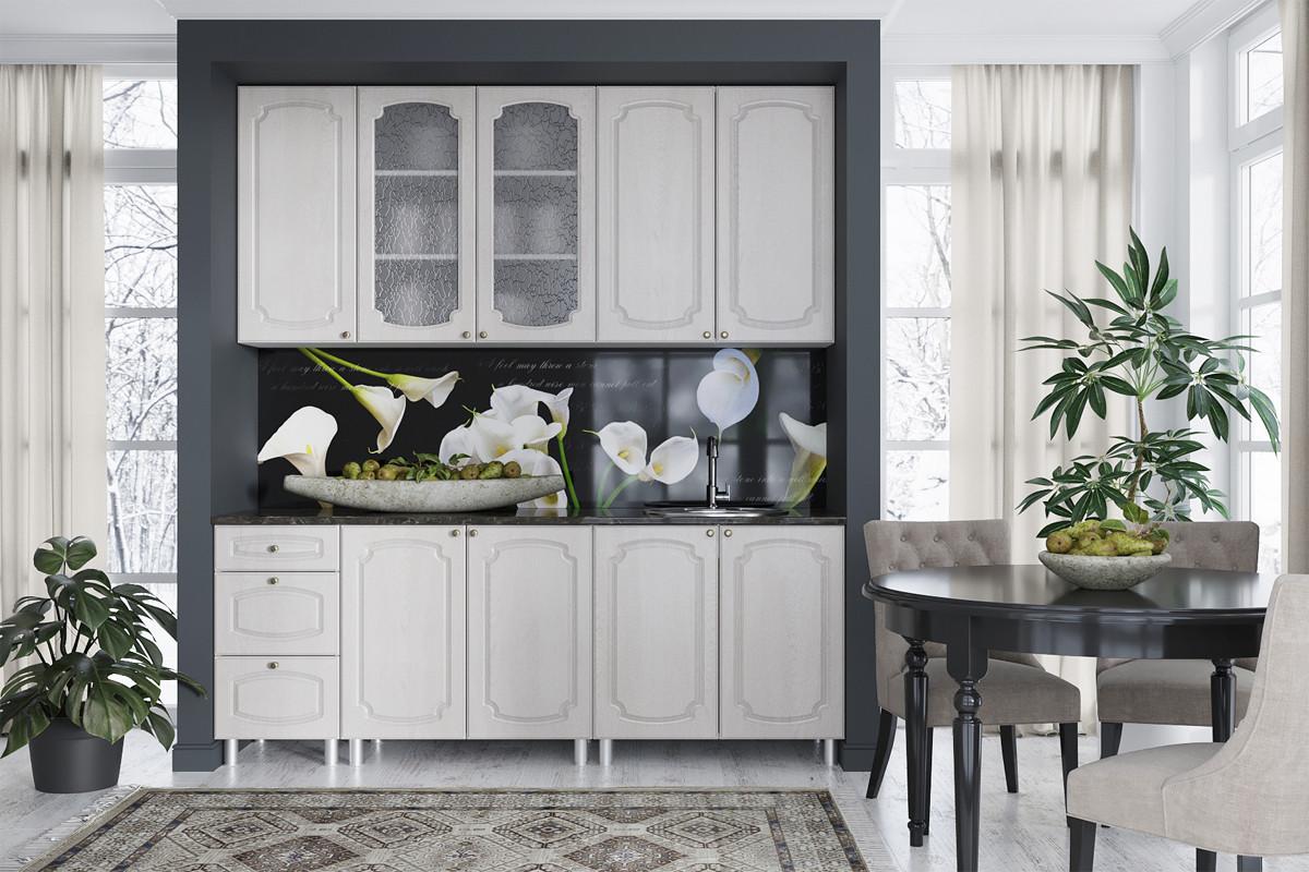 Комплект мебели для кухни Классика 2000, Сосна белая, СВ Мебель(Россия)