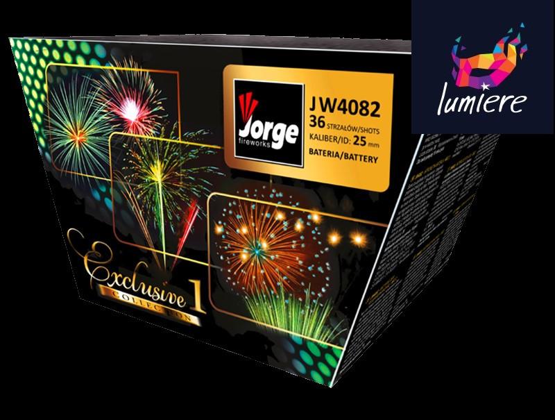 Батарея салютов Jorge JW4082 Exclusive Collection I