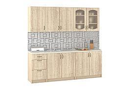 Комплект мебели для кухни Паула 2000, Береза, MEBEL SERVICE(Украина)