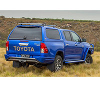 Кунг (канопи) ARB для Toyota Hilux Revo со сдвижными окнами (шершавый), фото 1