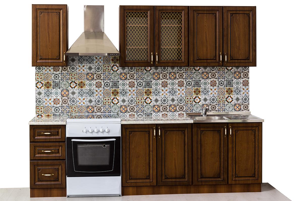 Комплект мебели для кухни Гранд 2000, Дуб Золотой, MEBEL SERVICE(Украина)