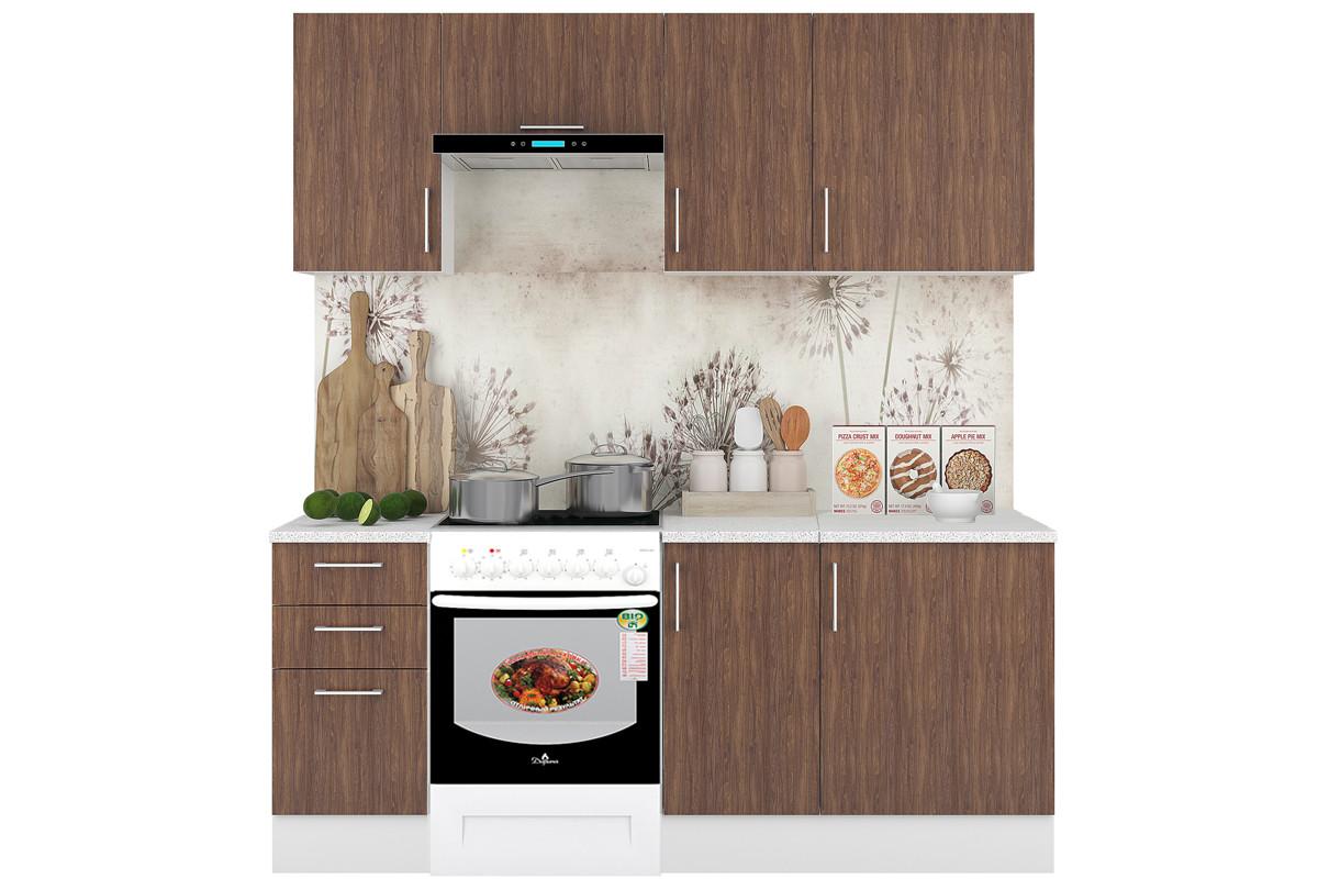 Комплект мебели для кухни Европа 2000, Серый, Горизонт(Россия)