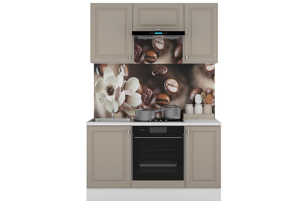 Комплект мебели для кухни Ева 1500, Мокко, Горизонт(Россия)