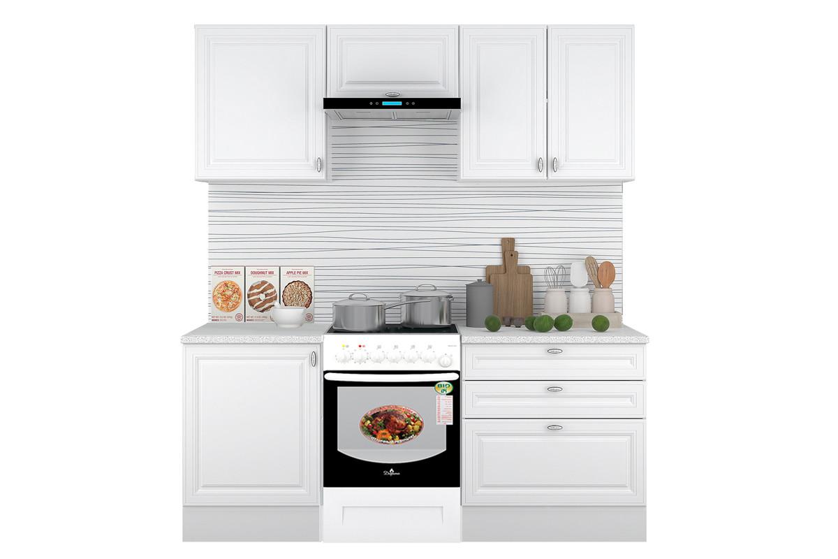 Комплект мебели для кухни Ева 2000, Белый, Горизонт(Россия)