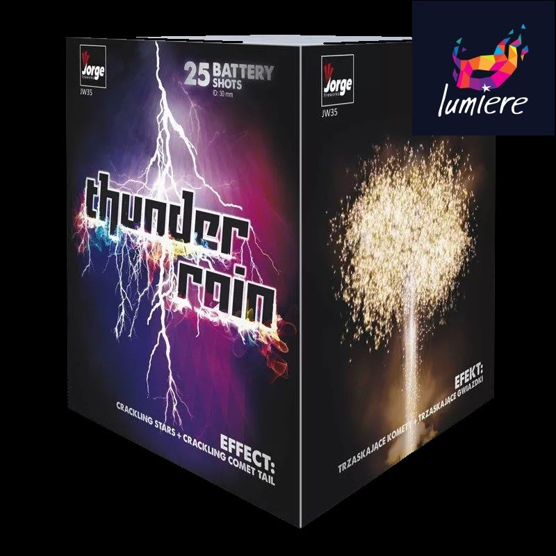 Батарея салютов Jorge JW35 Thunder rain