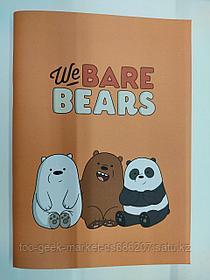 """Скетчбук """"Мы обычные медведи"""""""