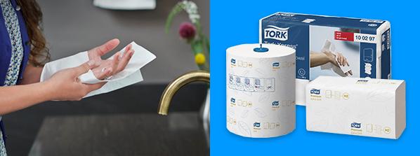 бумажные полотенца торк