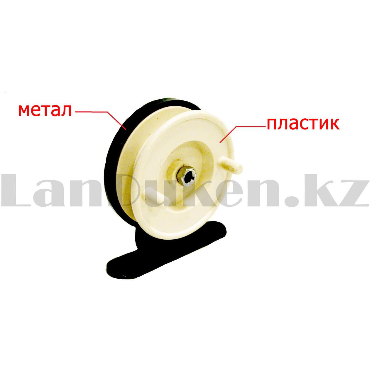 Инерционная катушка для удочки металлическая - фото 2