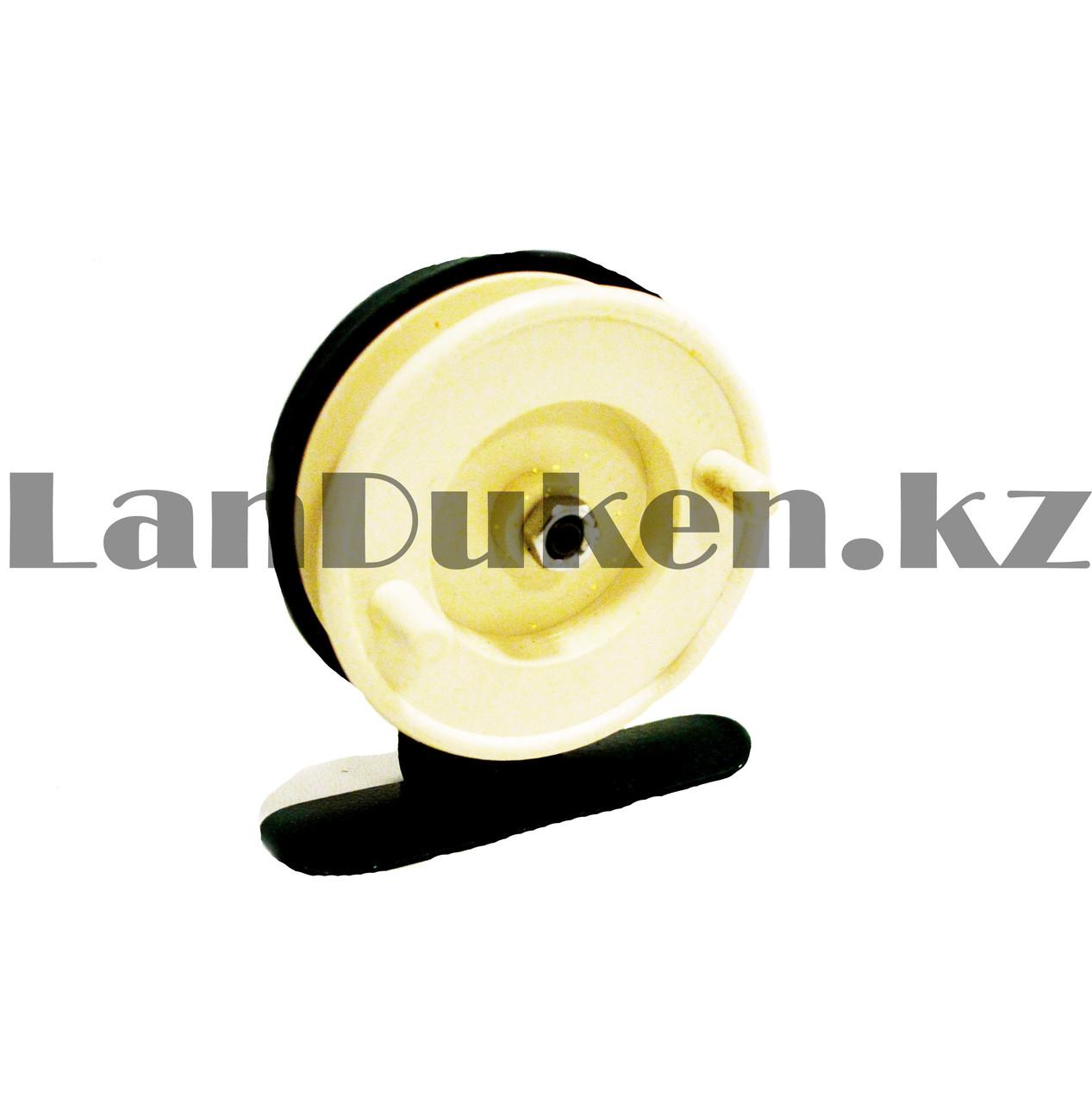 Инерционная катушка для удочки металлическая - фото 4
