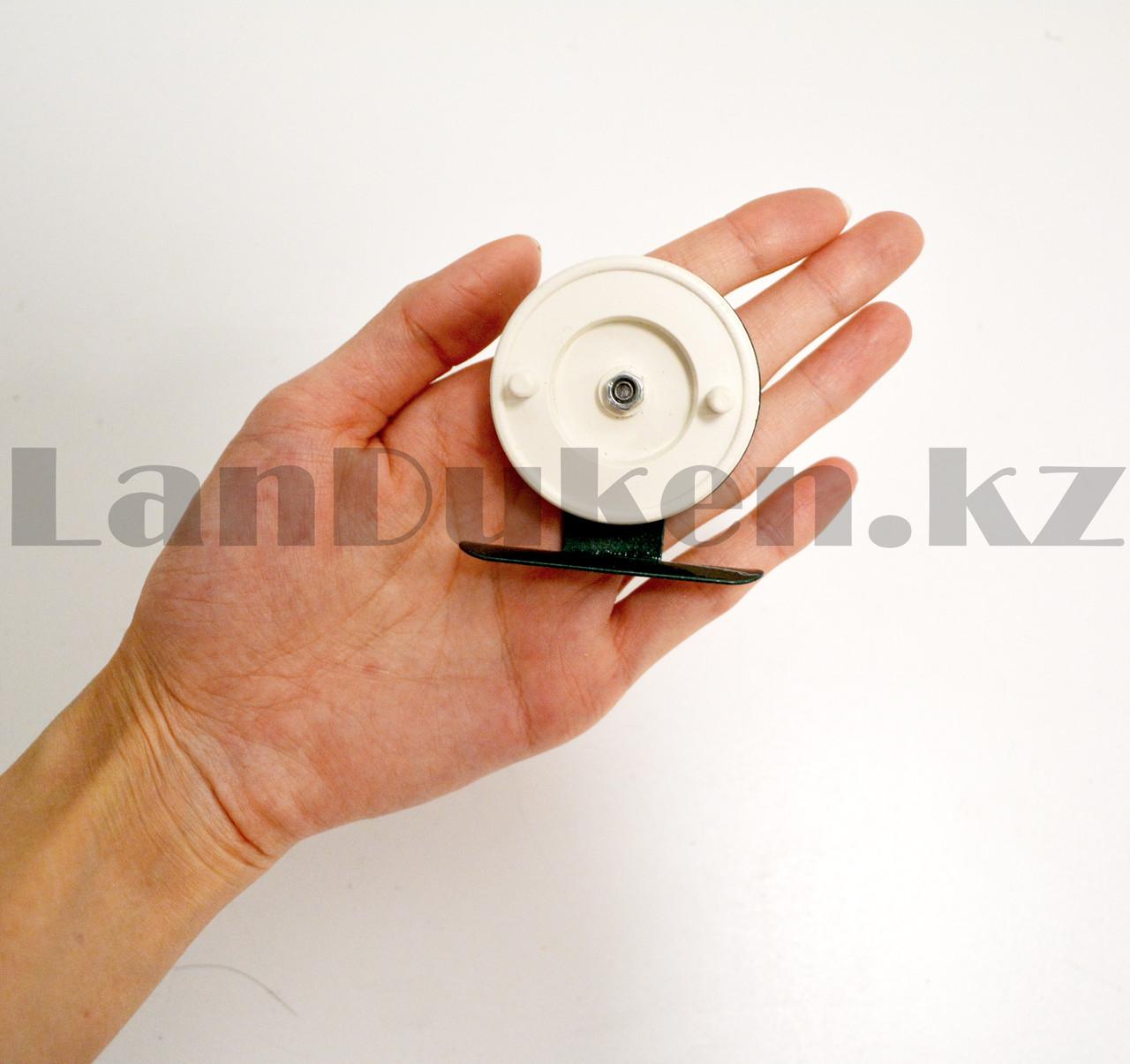 Инерционная катушка для удочки металлическая - фото 6