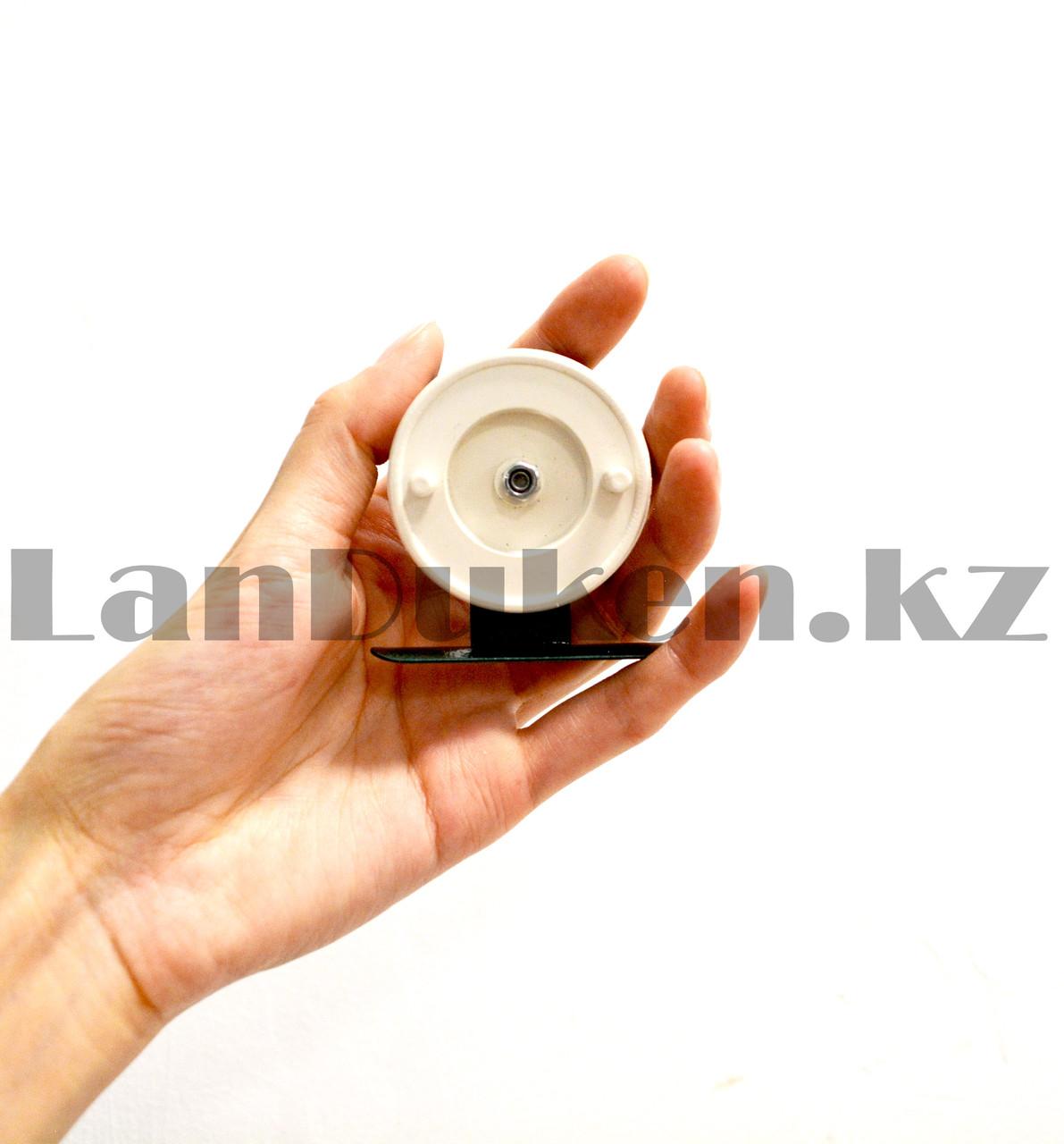 Инерционная катушка для удочки металлическая - фото 7