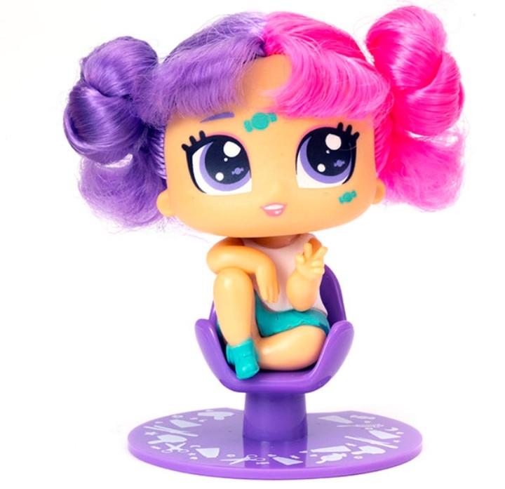 Hairdooz Хэирдуз Игровой набор Куколка Неон в парикмахерской с аксессуарами