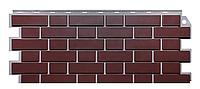 Фасадные панели Жжёный 1131x463 мм (0,47 м2) Кирпич клинкерный  ДАЧНЫЙ FINEBER