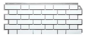Фасадные панели Белый 1131x463 мм (0,47 м2) Кирпич клинкерный ДАЧНЫЙ FINEBER