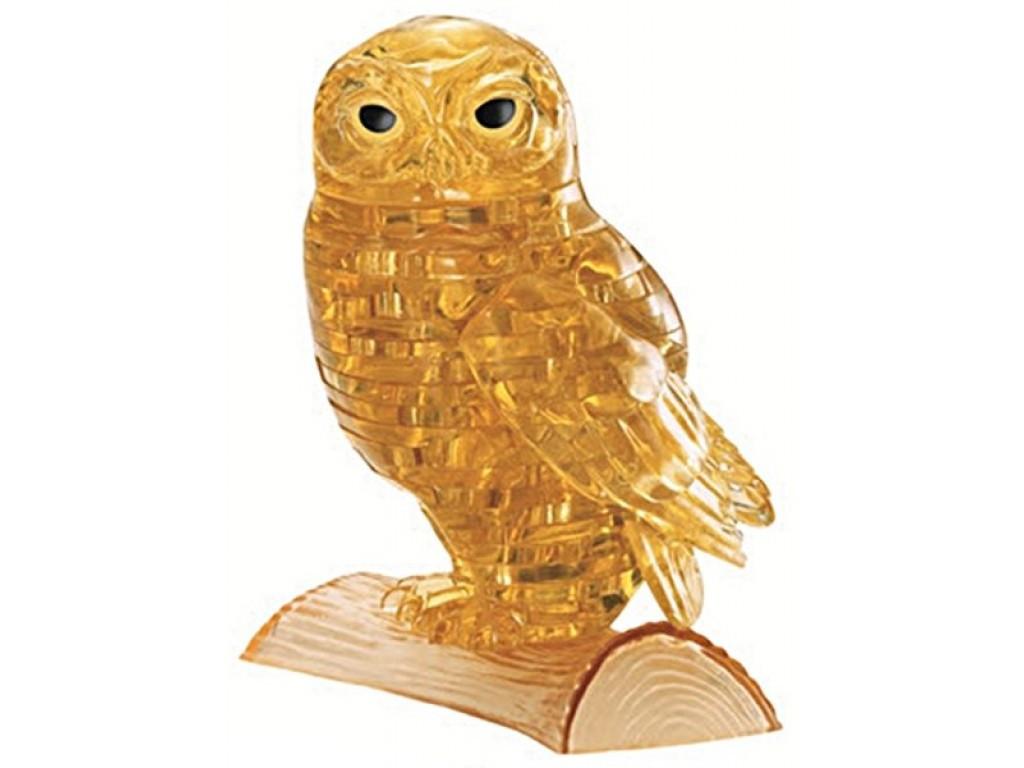 3D головоломка Сова золотая - фото 1