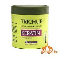 Маска для волос с кератином (Keratin damage repair TRICHUP), 500 мл