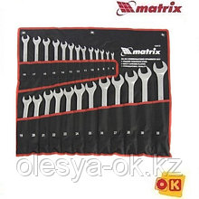 Набор ключей комбинированных, 6-32 мм, 25 шт,  MATRIX. 15413