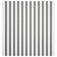 СОФИА Ткань, в широкую полоску, белый/серый, 150 см