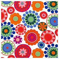 ФРЕДРИКА Ткань, разноцветный, 150 см