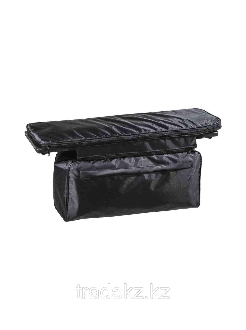 Комплект мягких накладок на сиденья лодки с сумкой, размер 70х20 см