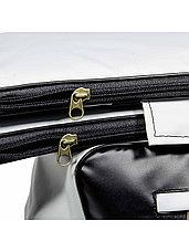 Комплект мягких накладок на сиденья лодки с сумкой ПВХ, размер 112х24 см, фото 2