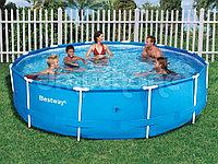 Каркасный круглый бассейн Bestway Steel Pro 305 см 100 см 56984