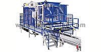Автоматизированная бетоноформовочная установка для бетонных блоков и тротуарной плитки модель 844, фото 1