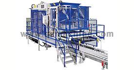 Автоматизированная бетоноформовочная установка для бетонных блоков и тротуарной плитки модель