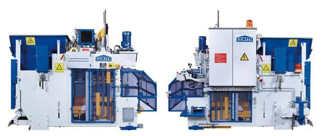 Мобильный вибропресс для производства бетонных блоков и элементов ландшафтного дизайна 913