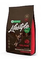 Сухой корм для собак всех пород Nature's Protection Lifestyle Grain Free Adult Salmon с лососем