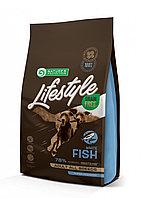 Сухой корм для собак всех пород Nature's Protection Lifestyle Grain Free Adult White Fish с белой рыбой