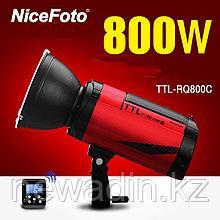 Аккумуляторная беспроводная TTL вспышка (студийный моноблок) 800 Дж и байонетом bowens Nflash TTL-RQ800C