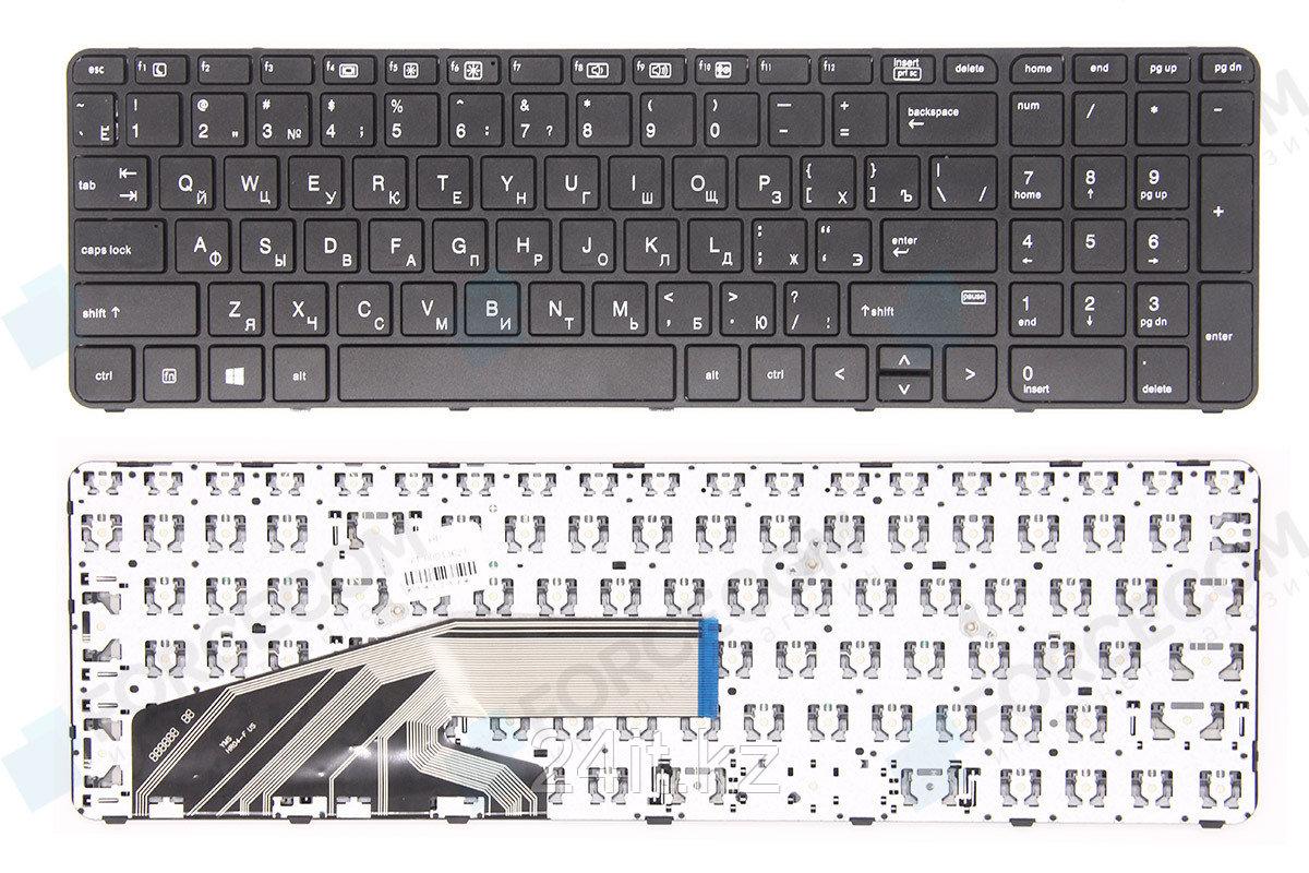 Клавиатура для ноутбука HP ProBook 450 G3, RU, рамка, черная