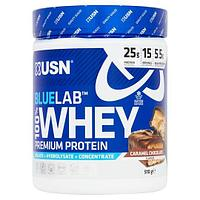 BlueLab 100% Whey, 510 g, USN (Caramel chocolate)