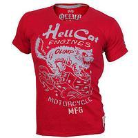 Мужская футболка, HELL CATS Красный (XL)