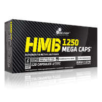HMB 1250 mega caps, 120 caps, Olimp Nutrition