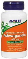 Ashwagandha 450 mg, 90 veg.caps, NOW