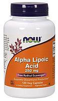 Alpha Lipoic Acid 250 mg, 120 veg.caps, NOW